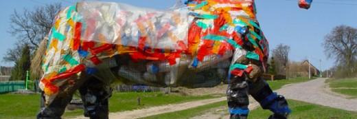koń wolski … sztuka z odzysku, artystyczny recycling
