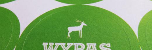 naklejki Wypas 100% Wegan – Poznań