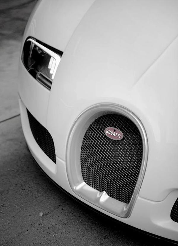 Bugatti-white-car