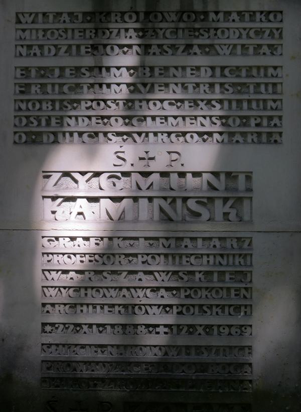 Zygmunt-Kaminski-typografia-nagrobna-powązki