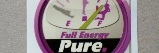 Naklejki na folii przezroczystej Pure Full Energy