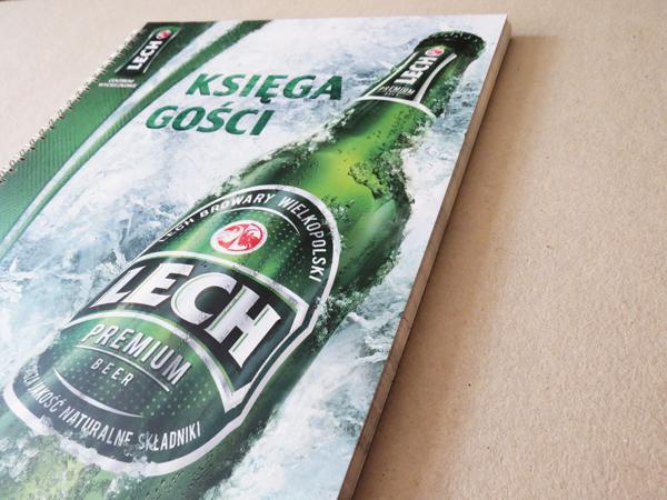 Lech-premium-księga-gości-góra