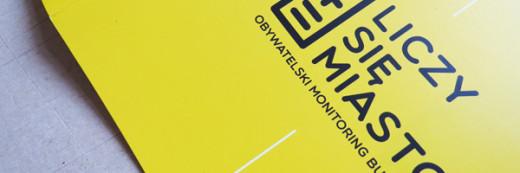 Broszura A4  – Liczy się miasto – obywatelski monitoring budżetu Poznań