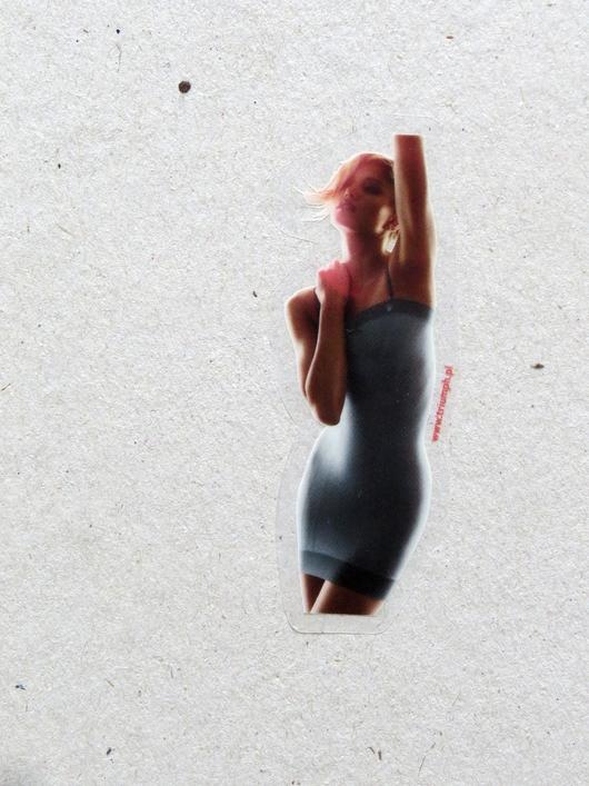 Samoprzlepne naklejki folia przezroczysta Triumph Warszawa