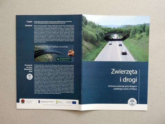 drogi i zwierzęta katalog broszura papier ekologiczny