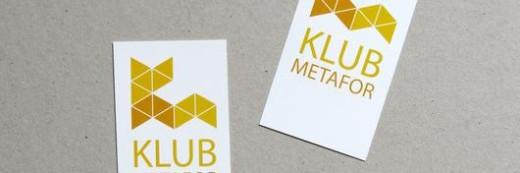 Naklejki elektrostatyczne Klub Metafor Białystok