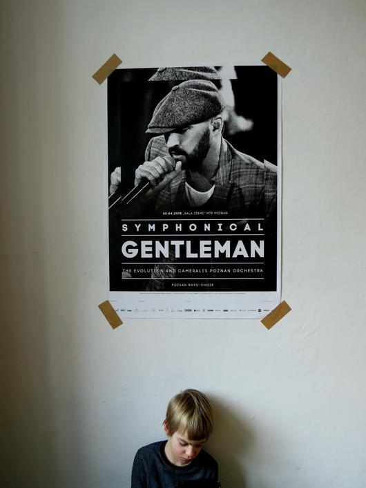 Plakat b1 symphonical gentelman poznan