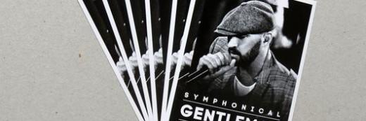 Plakaty – ulotki – zaproszenie – kartki pocztowe –   Symphonical Gentleman Poznań