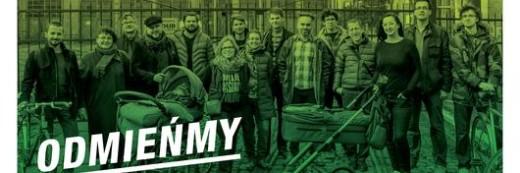 Dziś drukujemy kolorem Zielonym – ulotki, plakaty, wizytówki – Poznań Jeżyce