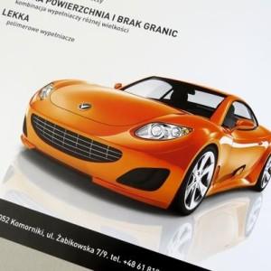 plakat B2 + ulotka a4 – Spectral color technology – Novol Poznań