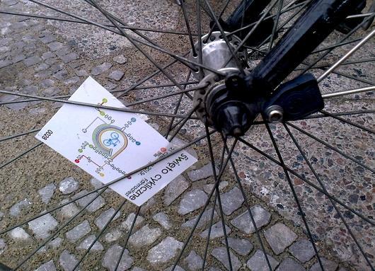 Szprychowka w kole rowerowym Szczecin