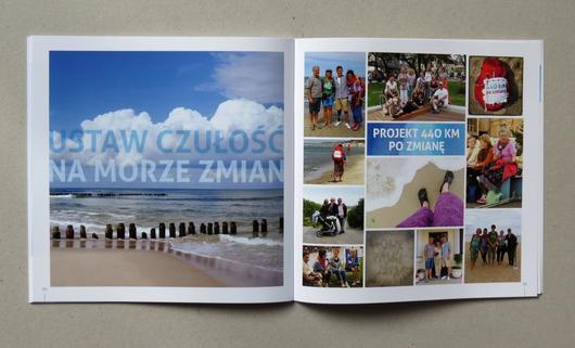 broszura 210 x 210, Krakow - Gdansk, kreda mat