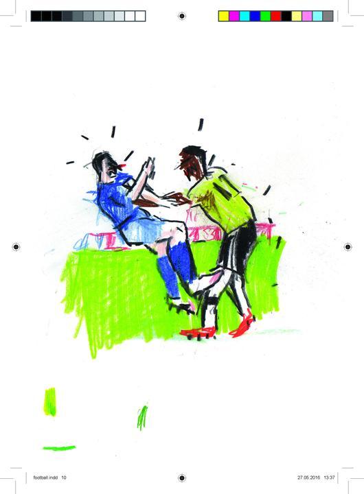 Euro 2014 France broschure footballfinal inside Max Skorwider